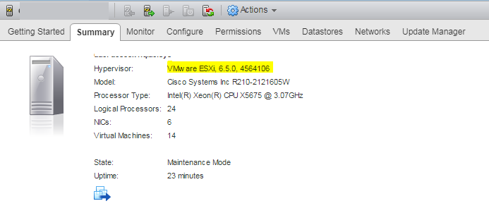 How to upgrade ESXi 5 5 to 6 5 0 using Update Manager